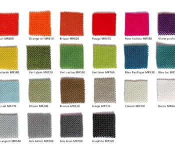 Texaa vzorník barev